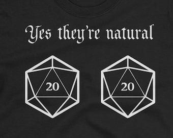 Natural 20s - D&D Women's Shirt
