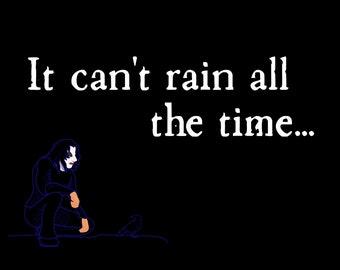 Rain - The Crow T-Shirt - Halloween