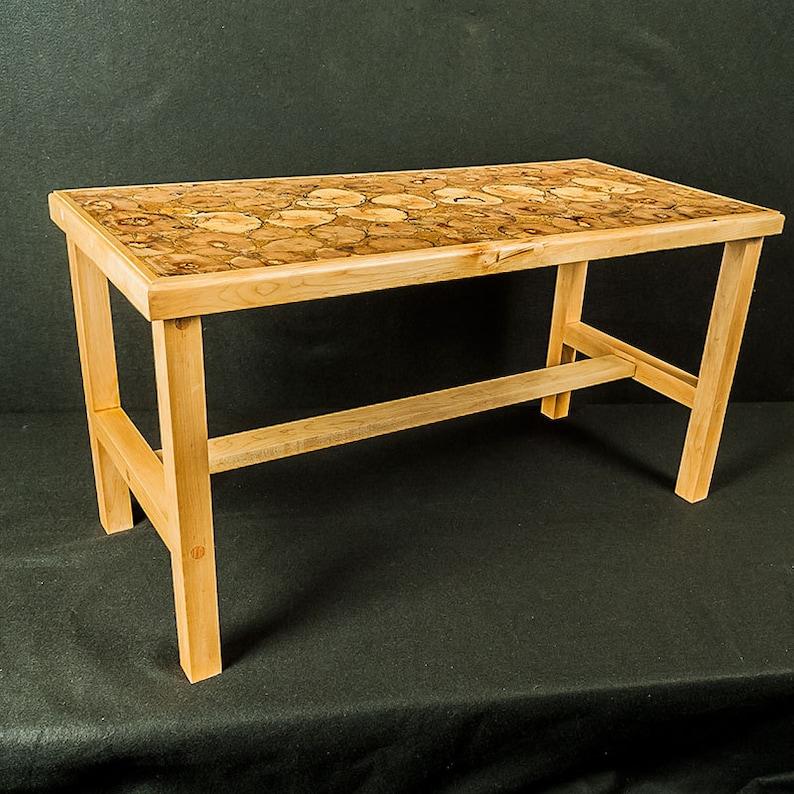 End Grain Coffee Table.End Grain Coffee Table