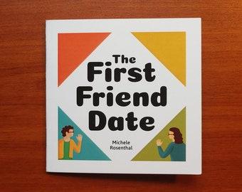 The First Friend Date comic