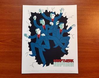 Showroom Dummies Kraftwerk print