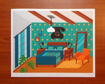 Dream Bedroom print