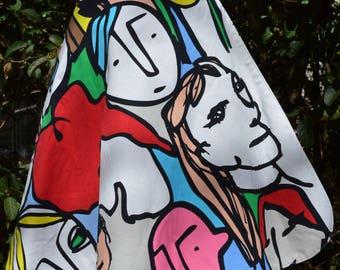 Mad Picasso REVERSIBLE skirt