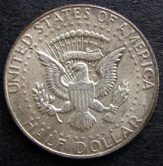 Jahrgang Usa Kennedy 1967 Halben Dollar Silber Münze In Extra Etsy