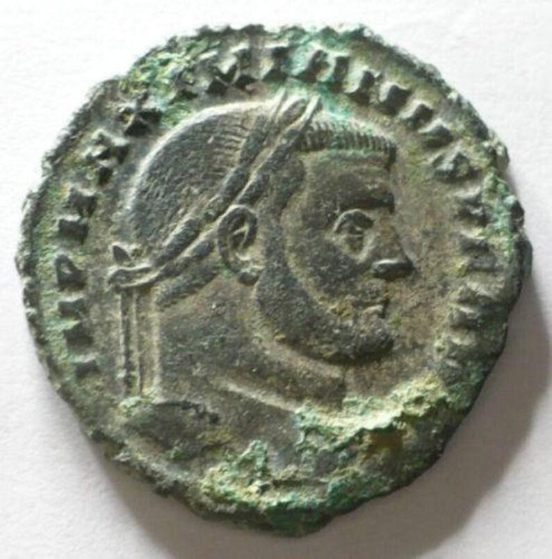 Original Byzantinische Münze Münzen Mittelalter Byzantinische Münzen Kupfermünze?