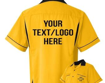 b0e998bd Custom bowling shirt | Etsy