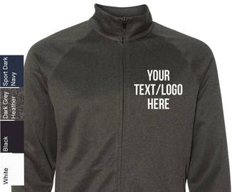 b10a659982 Personalized All Sport - Lightweight Jacket - M4009 with Vinyl / Glitter  Print All sizes and colors