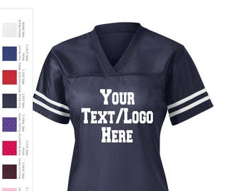 40c968b48 Sport-tek Ladies PosiCharge Replica Football Jersey - Custom Replica Jersey  - LST307 Ladies Football Customized Girls Ladies Football Jersey