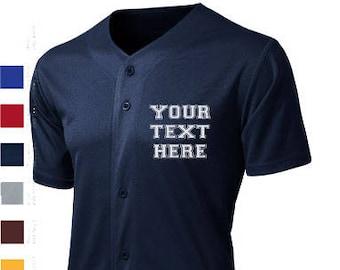 wholesale dealer 93bc8 c74e7 Custom baseball jersey   Etsy