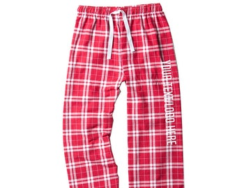 ST Louis Cardinals Mens Scatter Pattern Floral Pajama Lounge Pants