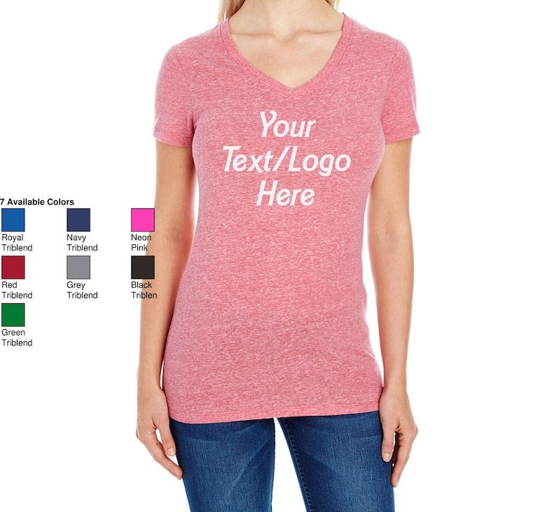 ab9da0d3b4d0 Customized 202B Threadfast Apparel Ladies' Triblend | Etsy