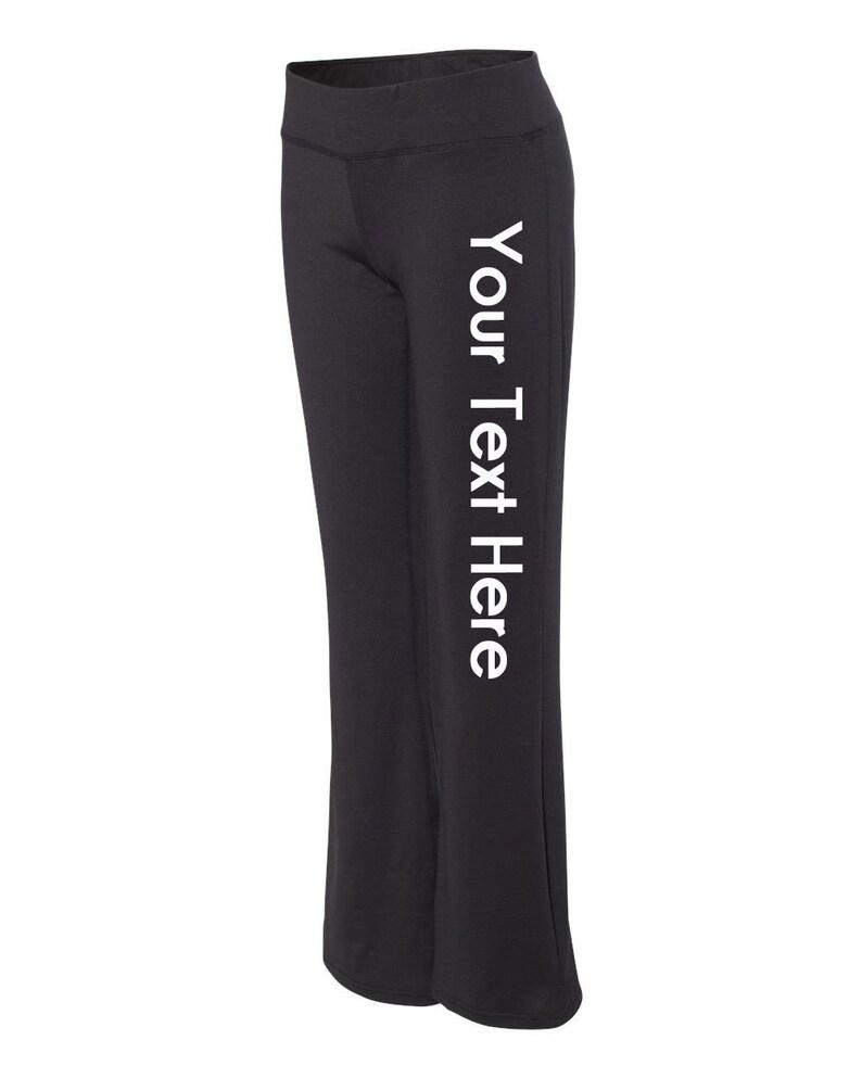 c11377bfdc05f Custom Made Badger Women's Yoga Travel Pants 4218 | Etsy