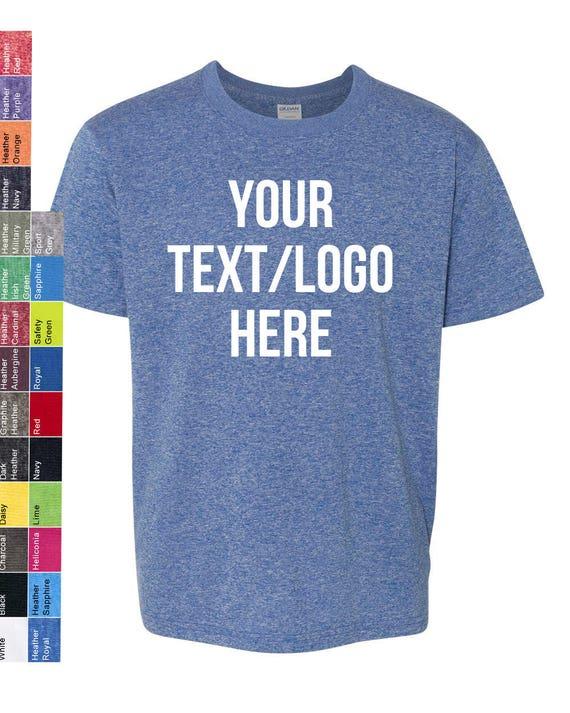 ec2223b2e3c Custom Made Gildan SoftStyle Youth Short Sleeve T-Shirt