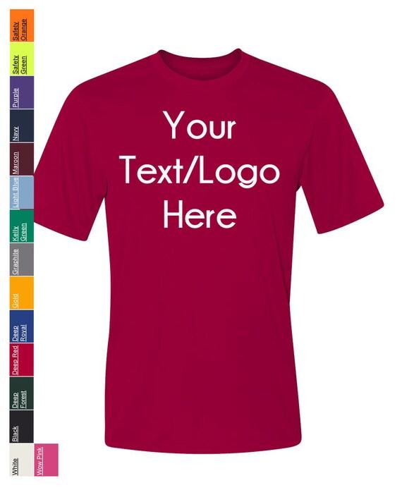 13b19ec0 Custom Hanes Cool Dri Performance Short Sleeve T-Shirt   Etsy