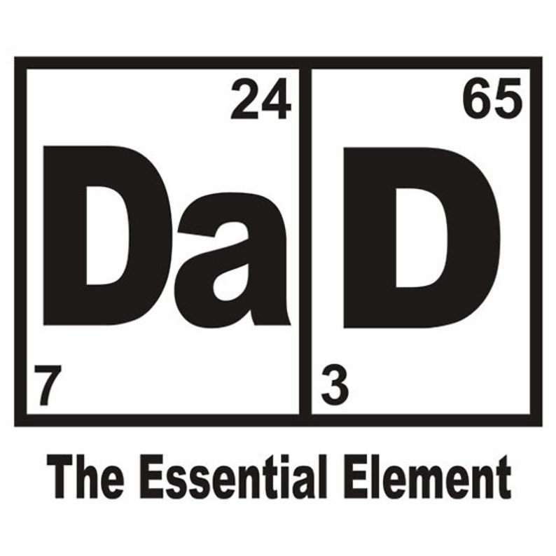 943c9466 DAD Essential element periodic table Father Tshirt Design | Etsy