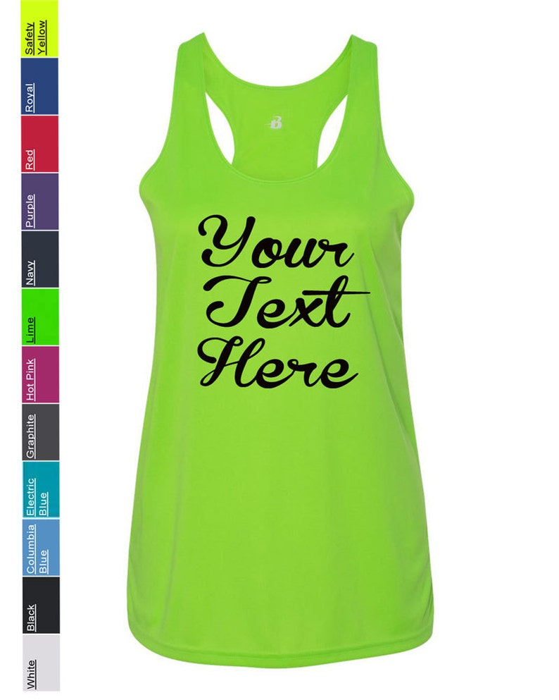 0e7e32c8d59 Custom Made Badger B-Core Women s Racerback Tank Top