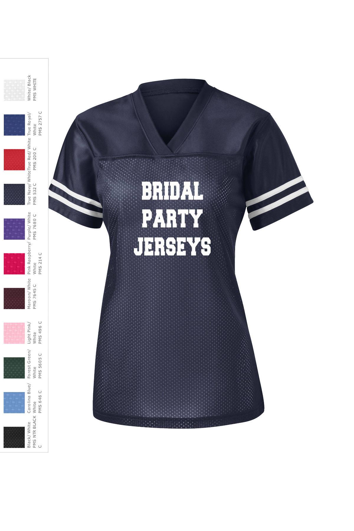 ee7876cba Bridal Party Jerseys Sport-tek Ladies PosiCharge Replica | Etsy