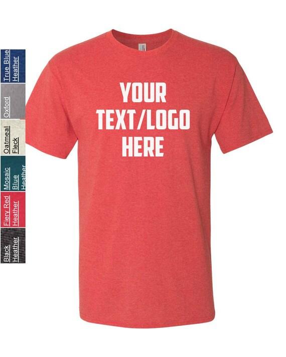 48911204 Customized Jerzees Dri-Power Active Triblend T-Shirt 601MR | Etsy