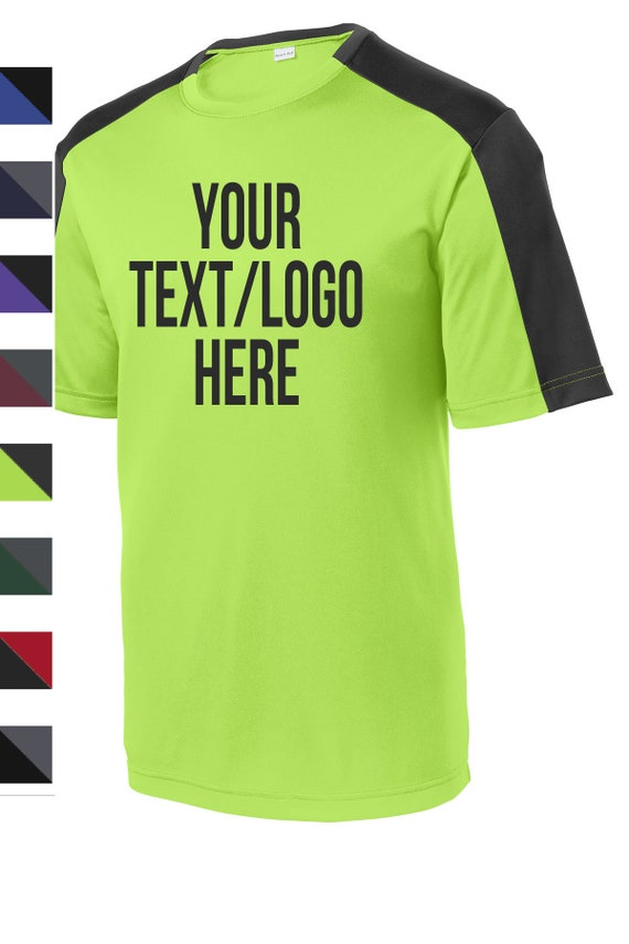Sport-Tek?YST354 Youth PosiCharge?Competitor?Sleeve Blocked Tee