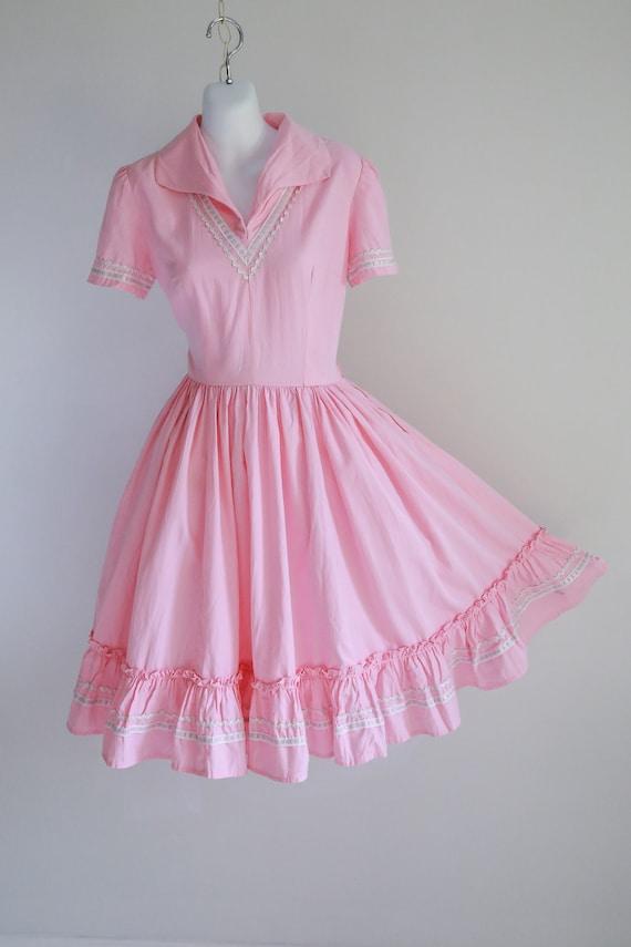 Pink Ric Rac Patio Dress- Sz S