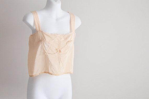 Truhu Silk, 20s Corset Cover / Camisole
