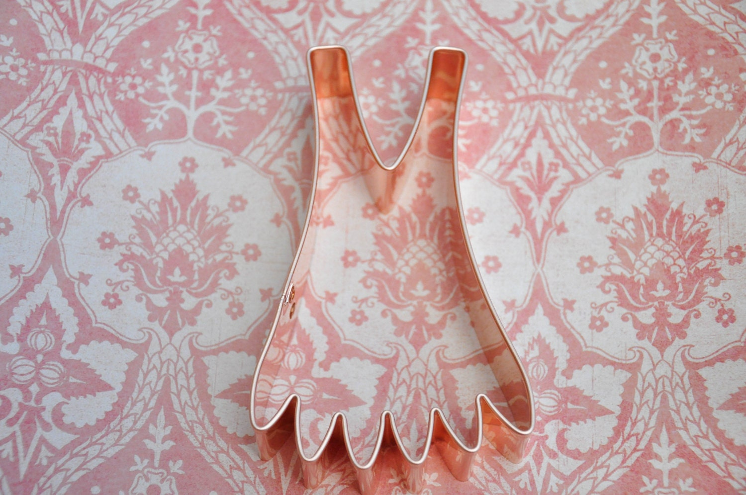 Flapper dress cookie cutter, ecrandal copper cutter (5.25x3) from ...