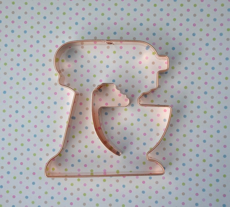 Kitchenaid copper cookie cutter 2 piece Kitchen Stand Mixer cookie cutter by ecrandal
