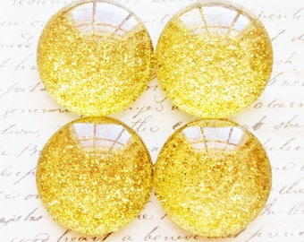 Glass Magnets - Office Magnets - Magnets - Office Supplies - Decorative Magnets - Gold Magnets - Office Accessories - Fridge Magnets - Gold