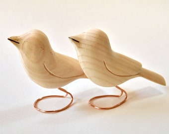 Wooden Birds Unfinished Wood Carvings Ornaments Summer Craft Woodworking Wood Sculpture Craft Supply, Crafts Under 20 Painting Supplies