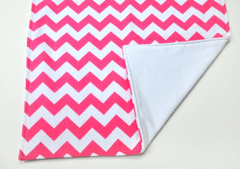 Waterproof Changing Pad Baby Gift Travel Changing Mat Infant Blanket Pink Chevron