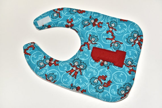 Baby Bibs made with licensed Dr Seuss great Shower gift or party favors