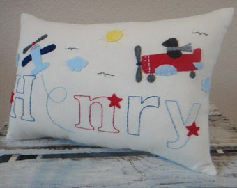 Custom Personalized Baby/ Toddler Primitive Pillows for Boy