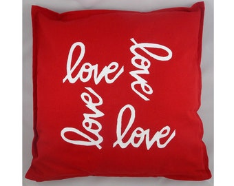 Spread the Love Decorative Pillow Cover