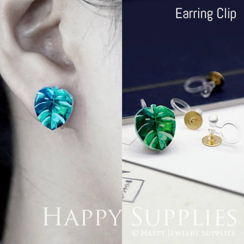 AR068 2 Pairs Fit For Earring Ring Laser Cut Mini Acrylic Resin Rabbit Laser Cut Jewelry Pendant  Charm 4pcs