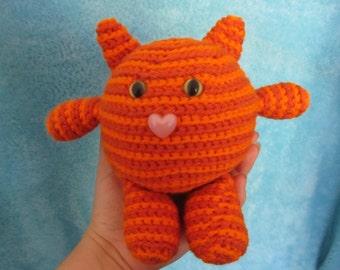 Orange Striped Fat Cat