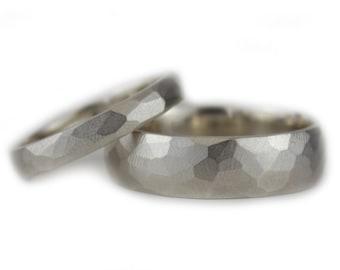 6mm Herren Ehering Silberhochzeit Ring Fur Ihn Herrenring Etsy