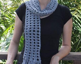 Ewetopia Crochet Scarf - PDF Pattern