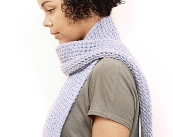 Tunisian Crochet Scarf - PDF Pattern