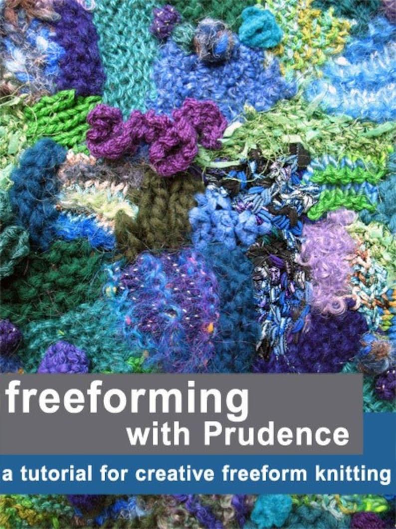 Tutorial for creative freeform knitting image 0
