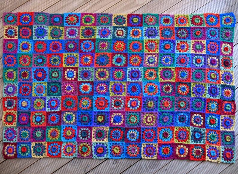 Alpacalicious Crochet Rug  PDF Pattern image 0