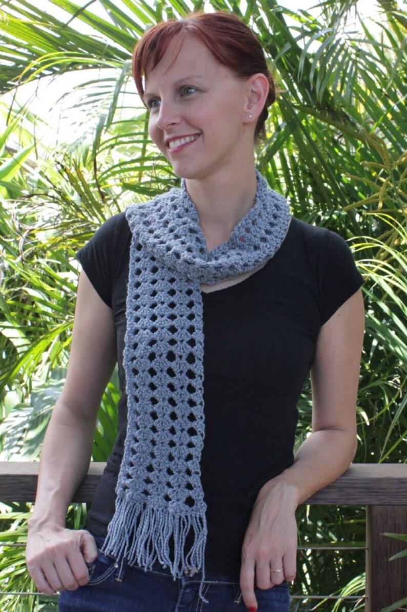 Ewetopia Crochet Scarf  PDF Pattern image 0