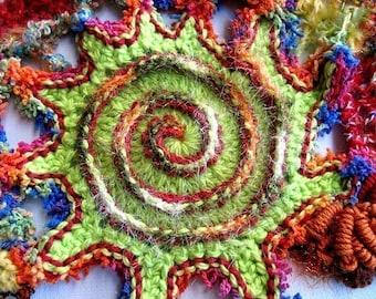 Spectacular Spirals - a PDF freeform crochet tutorial