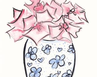 Original Flower Art