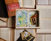 Hollow Book Safe - A Game of Thrones (Magnetic Closure)
