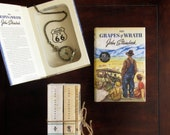 Hollow Book Safe - The Grapes of Wrath 75th Anniversary Edition (Magnetic Closure)