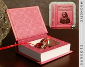 Hollow Book Safe | Mini Love Sonnets of Shakespeare | Magnetic Closure