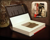 Hollow Book Safe & Flask - Get Capone (Magnetic Closure)