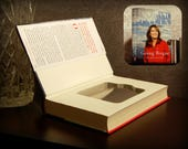 Hollow Book Safe & Flask - Sarah Palin Going Rogue (Magnetic Closure)