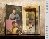 Hollow Books Safe | Star Trek Leatherbound | Magnetic Closure