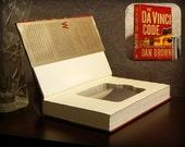 Hollow Book Safe & Flask - The Da Vinci Code (Magnetic Closure)